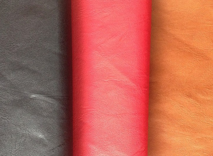 three color-Ultra-thin PU grment leather