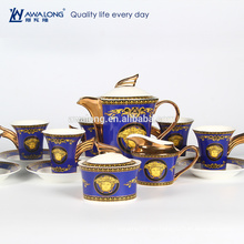 Bone Porzellan Kaffeetasse und Untertasse Set, Bone China Tee Kaffee-Set
