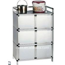 Aluminium-Küche-Kabinett