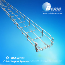 Electro Galvanizing Wire Mesh Cable Tray Distributor