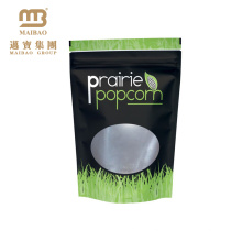 Smell Proof Stand Up Black Ziplock Clear Window Resealable Aluminum Foil Laminated Custom Printed Mylar Bags For Food