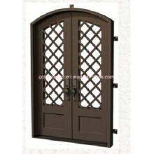 Puertas de acero de seguridad estándar americano con parrilla