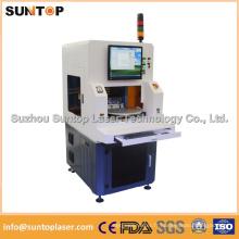 Machine de marquage laser à deux stations de travail avec protection complète par laser