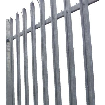 Galvanzied High Security Decorative Palisade For Wholesale