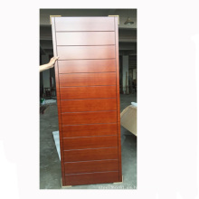 Puerta interior de caoba de diseño de baño de puerta interior