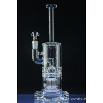 Baum zu Dual Ritzel Shisha Glas Rauchen Wasserpfeife (ES-GB-546)