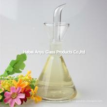Frasco de Mason barato frasco de vidro Cruet para azeite de oliva, vinagre, molho de soja, bebida