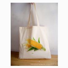 Leinwand Schönheit Lieferung Taschen zum Supermarkt Warenkorb