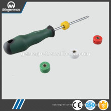 China gold supplier special magnet to pick up nails