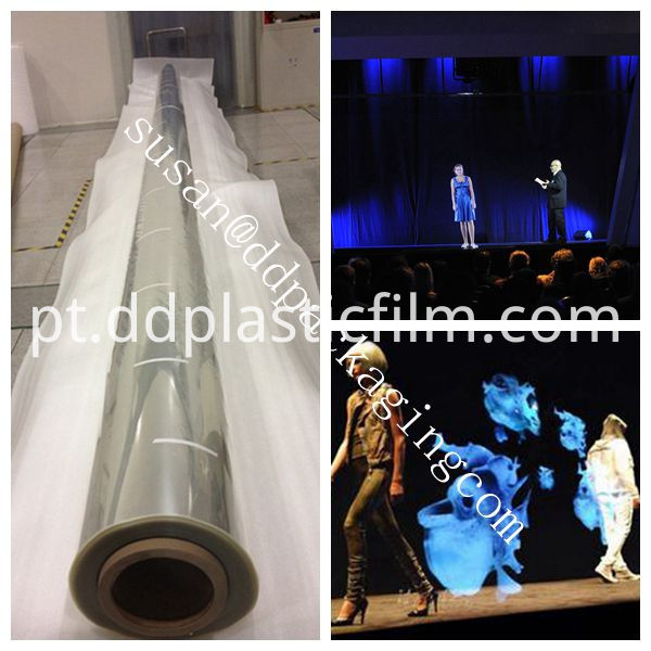 hologram projection film application