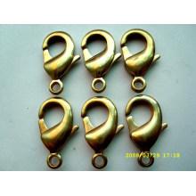 Newest design metal Gold plating Fishing snap hook mini snap hooks