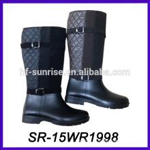 Cargador impermeable barato de la lluvia de la manera de la bota de la lluvia