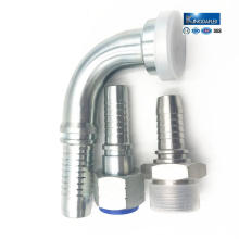 Different Standard Oil Resistant Carbon Steel Hydraulic Hose Fittings