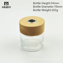 manufacturer 100ml cylinder colored decorative reed diffuser glass bottle