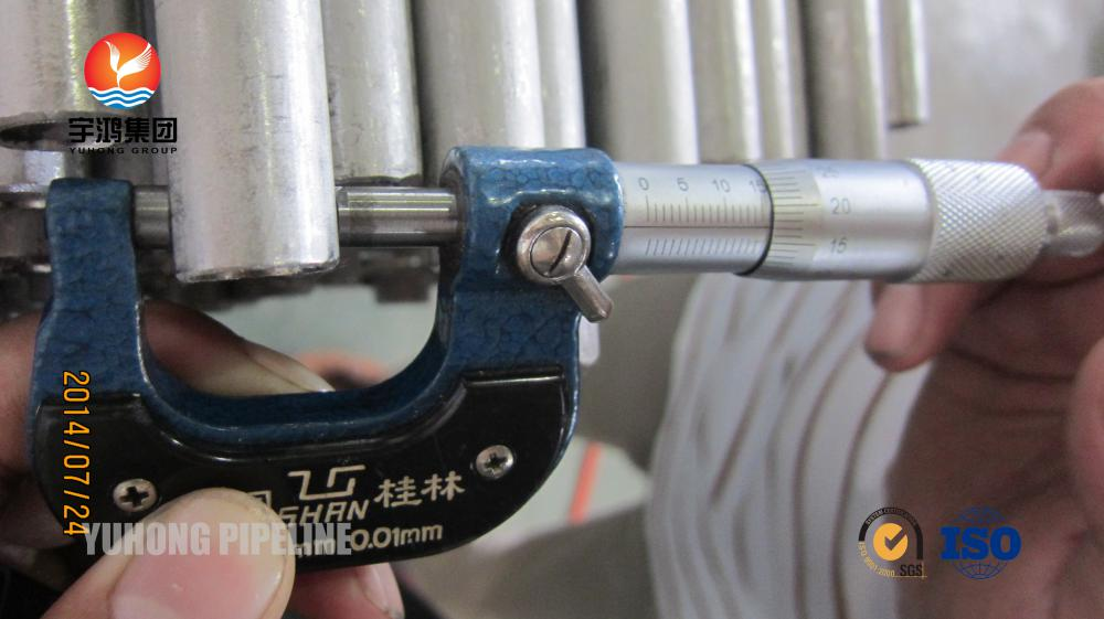 U Bend Tube ASME SA213 TP304 TP304H For Heat Exchanger