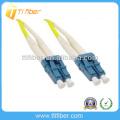 LC / UPC-LC / UPC Duplex Cable de conexión de fibra óptica