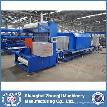 Machine de conditionnement de film de rétrécissement de laines phénolique / PU / roche