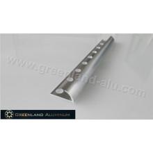 10mm Silver Bright Aluminum Radius Floor Trim