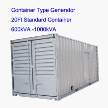 750kVA-1500kVA Silent Container Type Diesel Generator