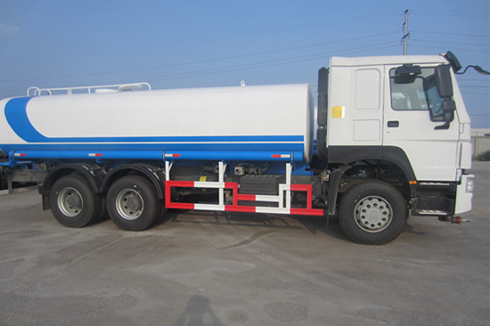 Howo Water Bowser Truck