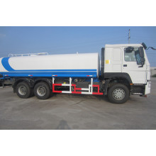 Camión cisterna de aspersión de agua Sinotruk Howo