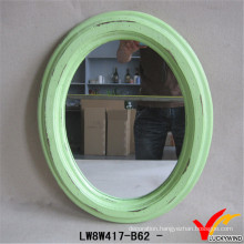 China Home Decoration Wholesale Oval Mirror