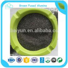 brown fused alumina oxide for sandblasting abrasive tool and abrasive paper