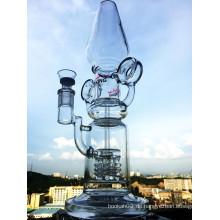 2016 Neues Design Duschkopf Prec Recylce Glas Wasser Rohr