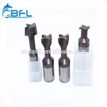 BFL Цементный твердосплавный инструмент с ЧПУ V Фрезы для пазов ласточкин хвост