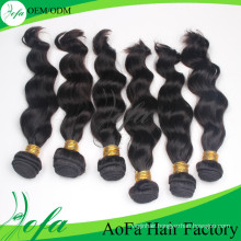 Wholesale Top Quality Human Hair Remy Virgin Hair Weft