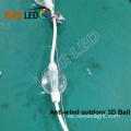 Anti-viento 3D LED Ball Outdoor IP65