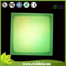 IP68 Color que cambia el ladrillo del LED con acero inoxidable