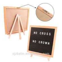 Oak Frame 12 x 18 Filz Brief Board mit Kunststoff Buchstaben Oak Frame 12 x 18 Filz Brief Board mit Kunststoff Buchstaben