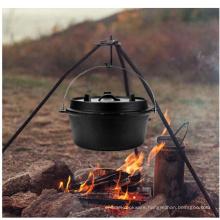 Hot Selling Pre-Seasoned Cast Iron Camp Dutch Oven