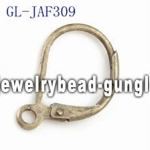 Lever back earrings findings jewelry accessories