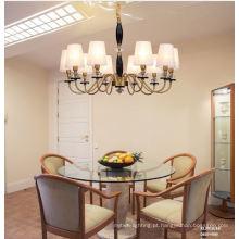 Decoração de sala de estar em estilo americano moderno iluminação