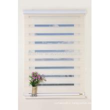Manual cheapest zebra sheer shade china window zebra shade curtain