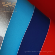 Pu Coated Breathable Waterproof Tooling Pu Leather Fabrics For Jackets