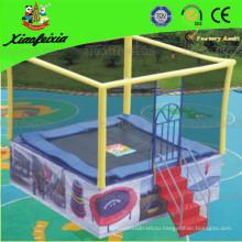 2014 Безопасность CE Идеальный популярный квадратный батут для детей