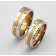 2016 316L Stainless Steel Jewelry Fashion Engagement Wedding Ring