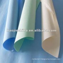 Paquets médicaux de stérilisation / papier médical d'emballage / papier médical de crêpe