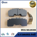 WVA 29268 29306 BPW ECO PLUS axles disk brake pad