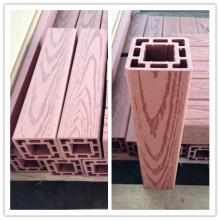 Wood Grain WPC Posting WPC Pergola, poste o pilar de Gazero