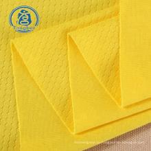 100% полиэстер, ткань футбольного трикотажа для спортивного костюма