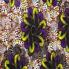 Eco-friendly Printed Wax Polyester Knit Wax Linning Fabrics