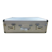 Caja de herramientas portátil de aluminio con cerradura codificada