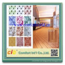 Venta caliente interior hogar esponja plástico 1MM 2MM PVC pisos