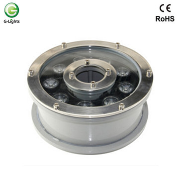 9watt DMX RGB LED Fountain Light