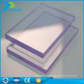 Panneau de matériaux de couverture en plastique transparent léger 100% Virgin bayer
