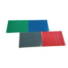 S-type plastic mesh carpet for bathroom